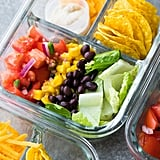 No Cook Taco Salad Bento Box