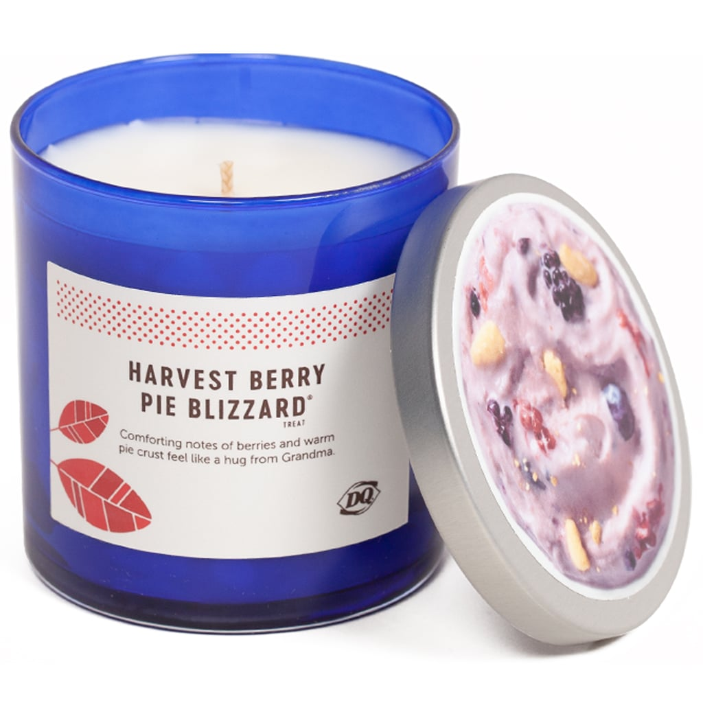 Dairy Queen Harvest Berry Pie Blizzard Candle