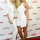 Doutzen Kroes and Erin Heatherton