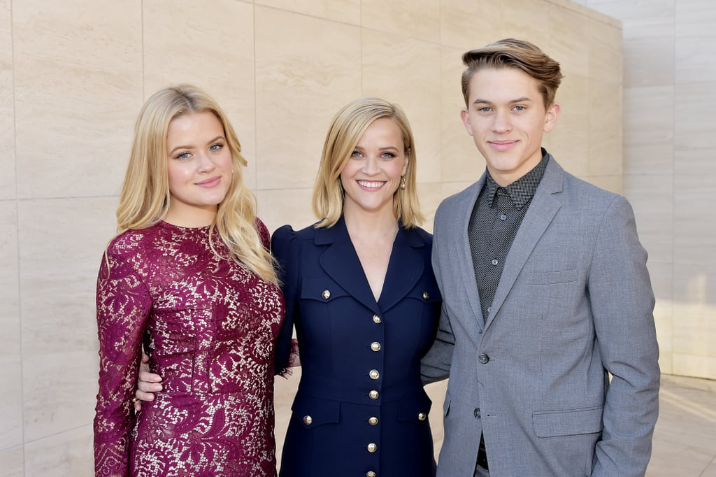 Ava and Deacon Phillippe at THR Event With Reese Witherspoon