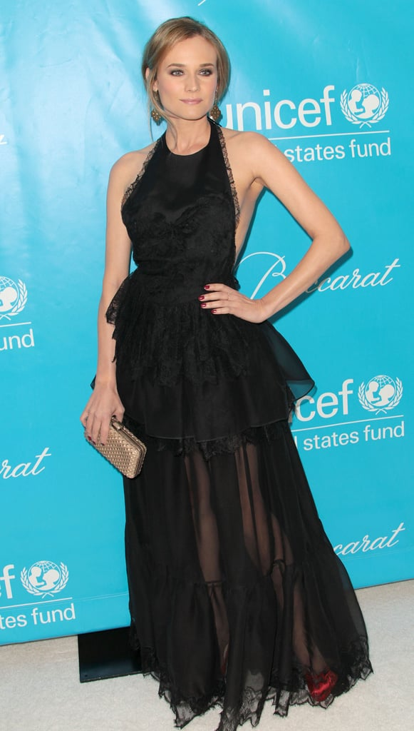 Diane Kruger Wearing Emilio Pucci at the 2011 Unicef Ball