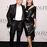 "Barbara and Dylan at Russell James' Launch of ""Angels"" in September 2018"