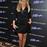 Julianne Hough took a spin for photographers before the NYC premiere of Footloose.