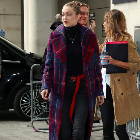 Gigi Hadid's Plaid Tommy x Gigi Coat