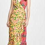 FARM Rio Garden Mix Wrap Dress