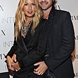 Rodger Berman and Rachel Zoe showed PDA at Intermix.