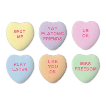 The Funniest Rejected Candy Hearts