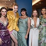 Maude Apatow, Hunter Schafer, Barbie Ferreira, Sydney Sweeney, and Storm Reid Had a Euphoria Reunion