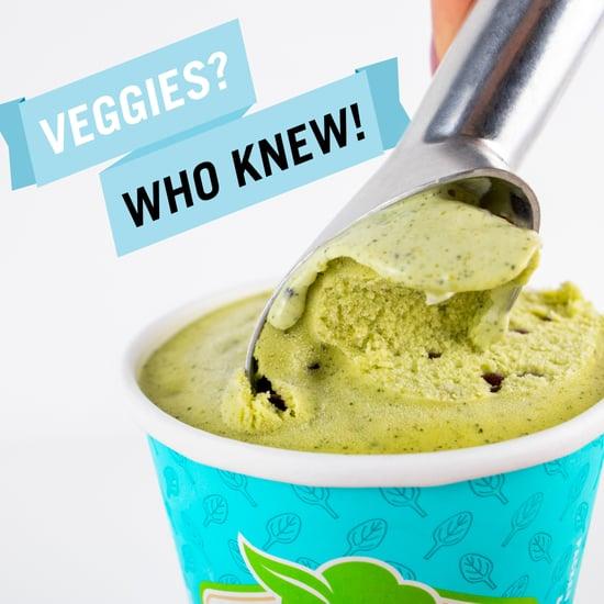 Peekaboo Ice Cream Hides Vegetables Inside