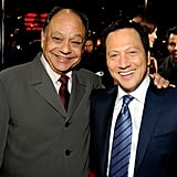 Cheech Marin and Rob Schneider look like they're having a good time at the PCAs.