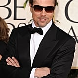 He pulled the bad-boy card on the Golden Globes red carpet in LA January 2011.
