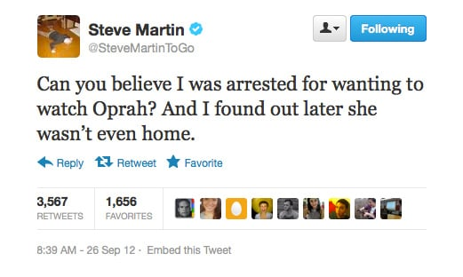 Steve Martin gets creepy.