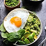 Pesto Cauliflower Rice Breakfast Bowls