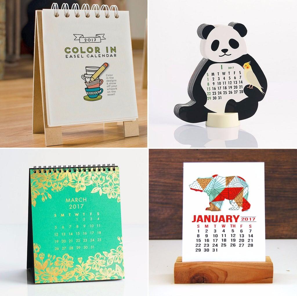 Best Desk Calendars 2017