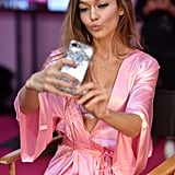 Gigi Hadid Got Her Selfie Game on