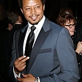 Terrence Howard adjusted his tie.
