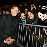 When He Posed With Fans at the Santa Barbara International Film Festival