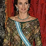 The Floral Tiara and Queen Sofía's Emeralds