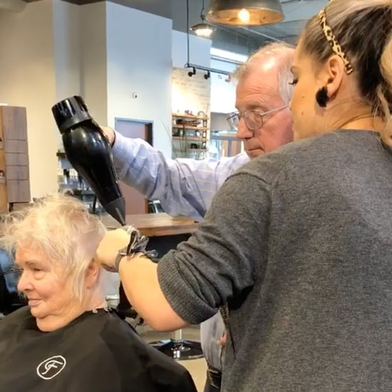 Man Learns to Style His Wife's Hair After Her Stroke
