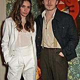 Hana Cross and Brooklyn Beckham at the Victoria Beckham x YouTube Party