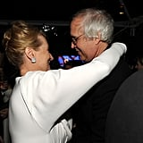 Meryl Streep and Chevy Chase