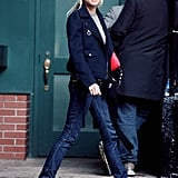 She was dressed-down cool in NYC in 2006.