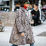 Accent Your Leopard With Bright Pops of Colour