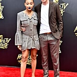 Amandla Stenberg and Nick Robinson