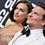 Bradley Cooper and Irina Shayk at the 2019 Golden Globes