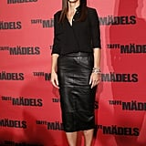 Sandra Bullock never looked better — the actress was ultrachic in all black for the Taffe Mädels photocall in Berlin.