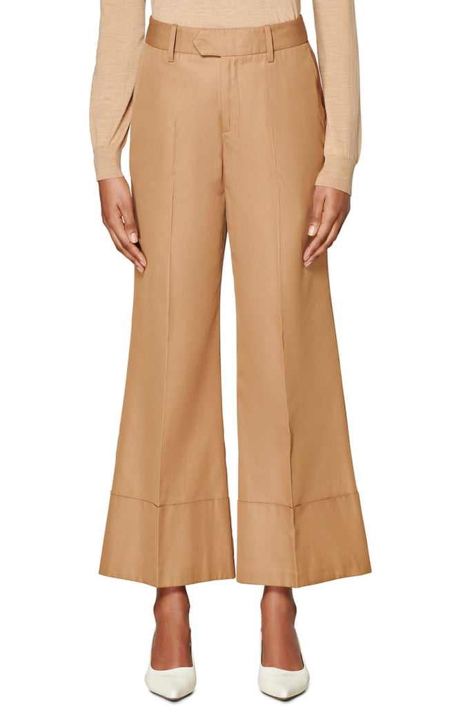 SuiStudio Laney Wide-Leg Cotton Trousers