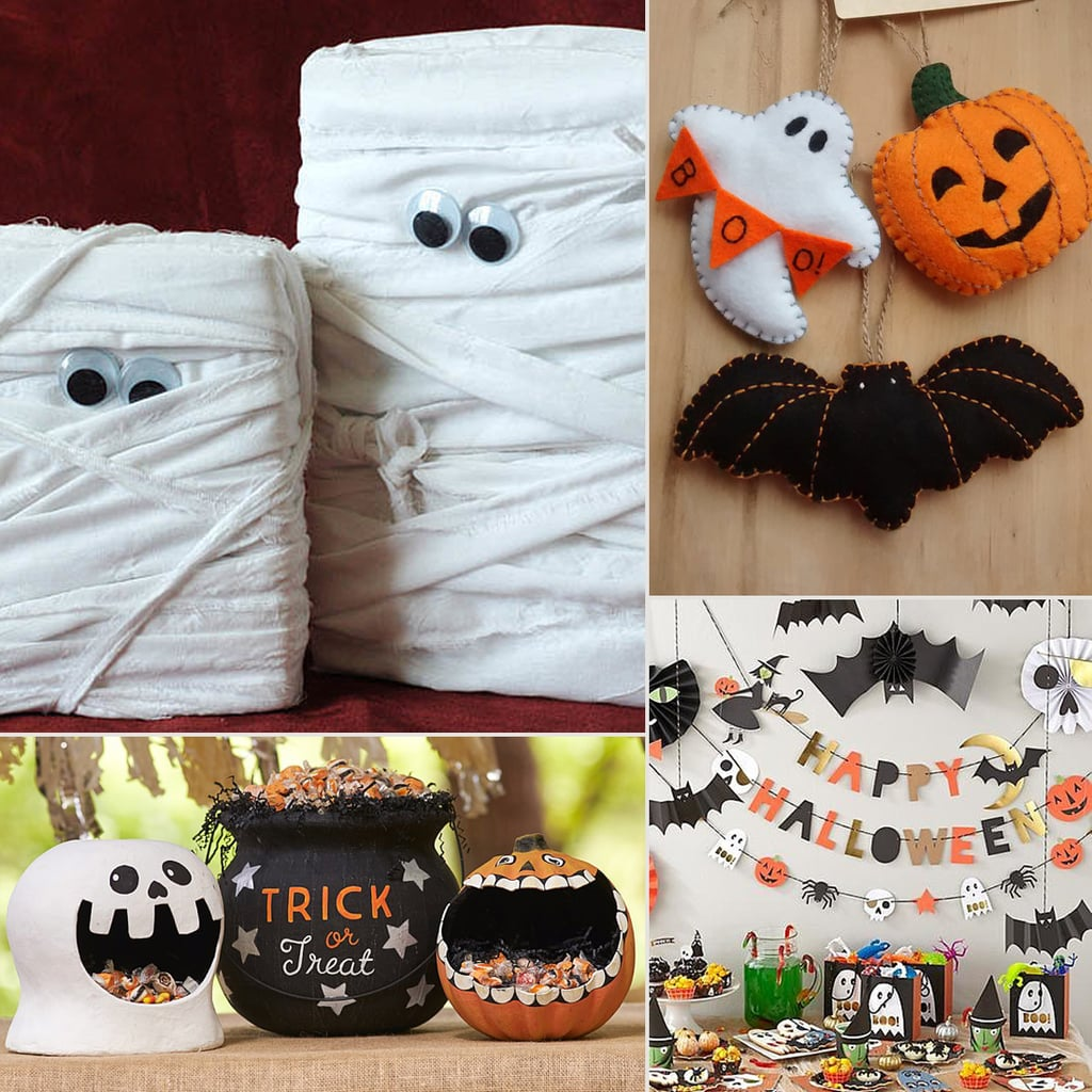 cute kid friendly halloween decorations popsugar moms - Easy Homemade Halloween Decorations