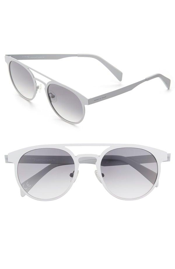 Italia Independent 55mm Round Sunglasses ($215)