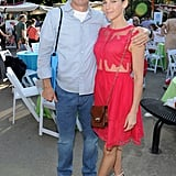 Jerry Seinfeld and Jessica Seinfeld posed at the 2013 Baby Buggy Bedtime Bash.