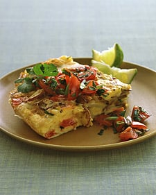 Fast and Easy Recipe For Mexican Potato Omelet