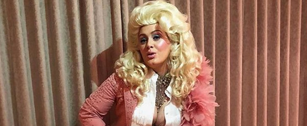 Adele Dresses Up as Dolly Parton in Instagram Picture