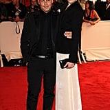 Calvin Klein's Italo Zucchelli with Dree Hemingway in Calvin Klein