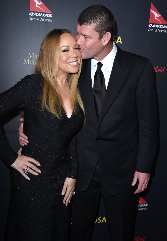 """Mariah Carey and James Packer only recently got engaged, but these two have been going strong for quite some time now. We first caught a glimpse of the pair's newfound romance during their dreamy Italian getaway back in June and three months later, the duo made their first red carpet appearance as a couple at the NYC premiere of The Intern. Since then, Mariah and James have been practically inseparable and during an appearance on Steve Harvey in November, Mariah couldn't help gushing over her billionaire boyfriend, saying, """"I'm lucky."""" Read on to see why Mariah and James belong together, and then check out everything we know about their upcoming nuptials."""