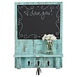 Chalkboard Display Shelf