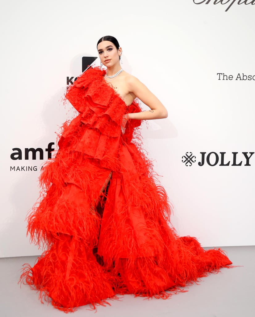 Dua Lipa at the amfAR Cannes Gala