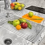 Sorbus Roll-Up Dish Drying Rack