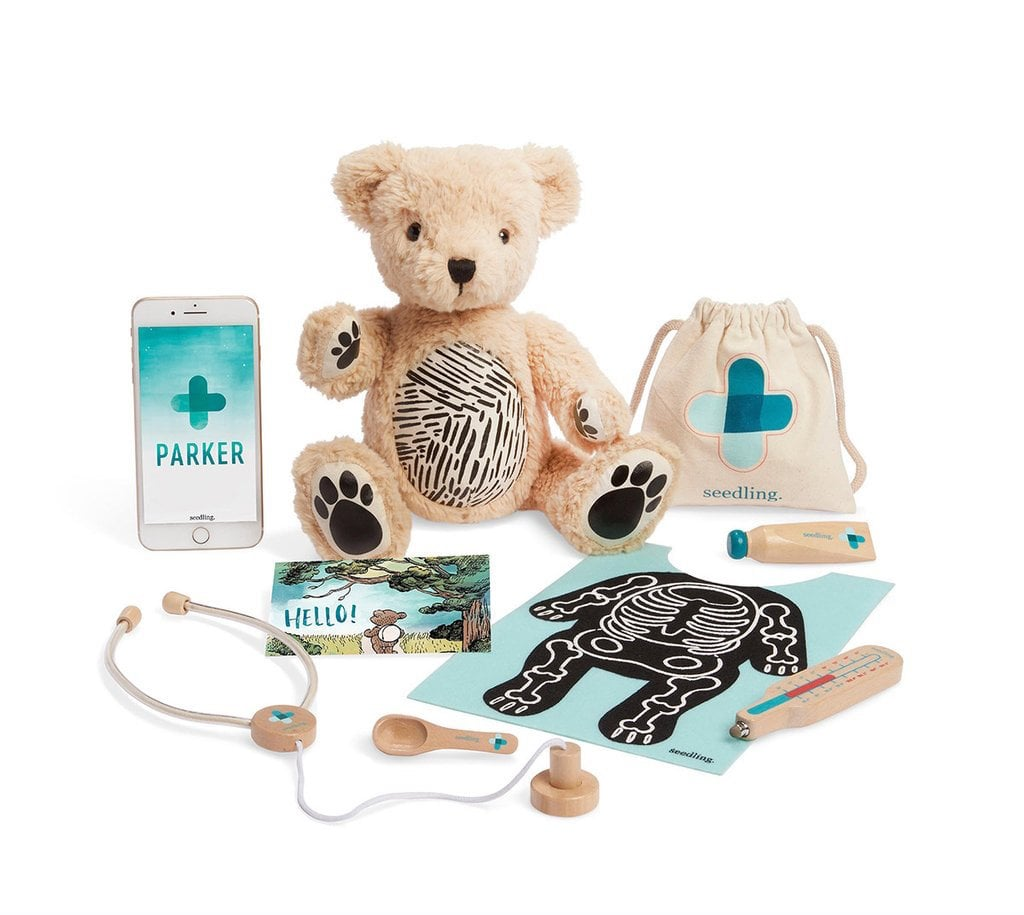Seedling Parker: Your Augmented Reality Bear