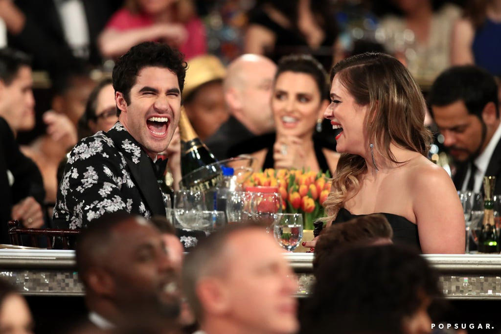 Pictured: Darren Criss and Mia Swier