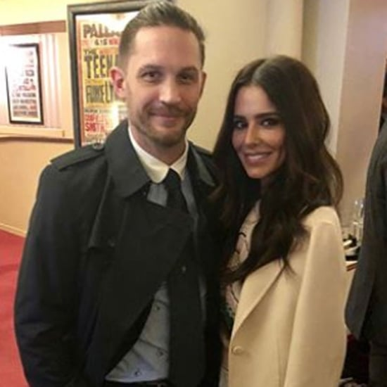 Cheryl Cole Meeting Tom Hardy Photos