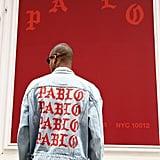 A Shopper Wearing Kanye's Pablo Jacket