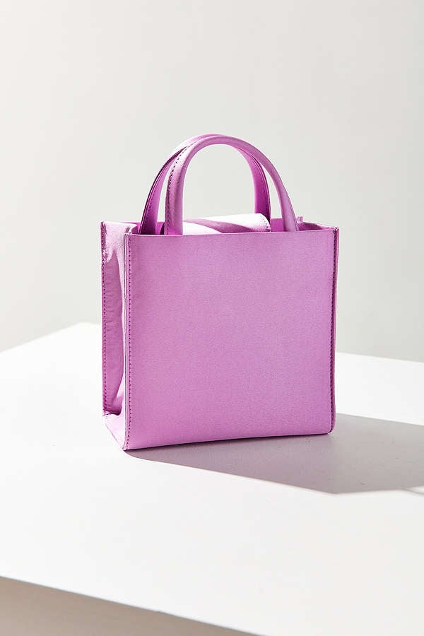 A bag so '90s, the Urban Outfitters Mini Satin Tote ($34) would be coveted by Cher Horowitz herself.