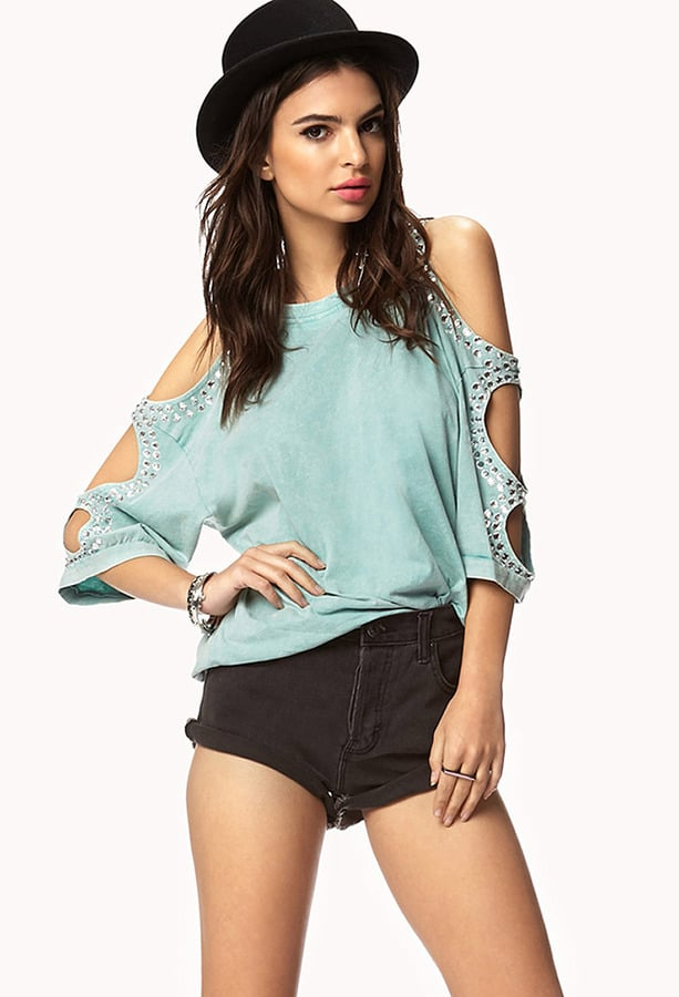 Forever 21 Cutout Sweatshirt