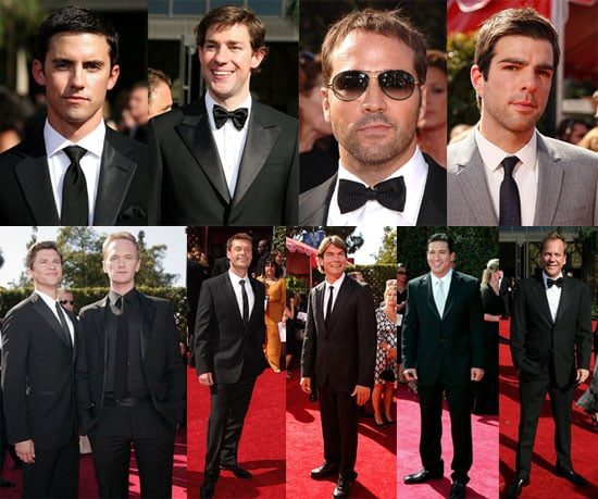 It's A Tie With Men's Neckwear At The Emmys