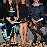 Winona Ryder, Christina Ricci and Parker Posey were front row at the Marc Jacobs show.