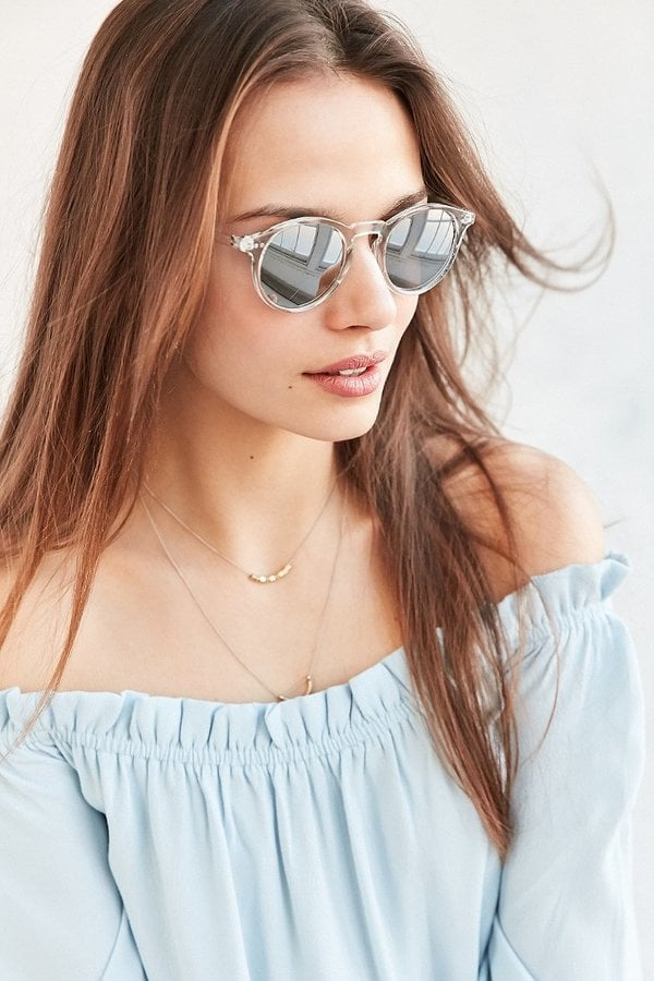 Clear Sky Round Sunglasses ($14)